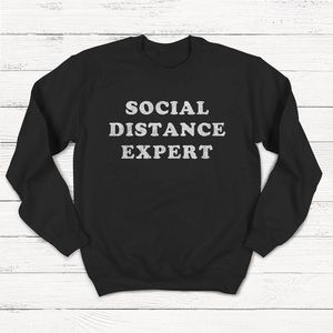 Sweaters - Social Distance Expert sweater 🙏❤️🏡 #covid19